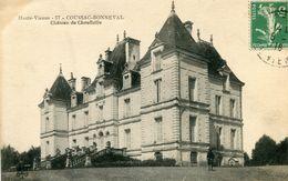 Coussac Booneval Chateau De Chauffaille Circulee En 1916 - Condat Sur Vienne