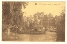 #14029[Postkaart] Lede / Koninklijk Gesticht Van Meesen - Park. / Nels / Uitg. Ad. De Munter-De Prez [parc Vijver étang - Lede