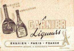BUVARD  GARNIER LIQUEURS - Liquor & Beer