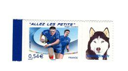 Allez Les Petits Personnalisé Adhésif YT 4032 B . Rare , Voir Le Scan . Cote YT : 13 € , Maury N° 75 : 14 € . - Personalized Stamps