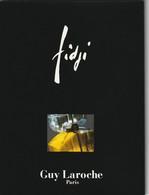 FIDJI De Guy LAROCHE  Superbe Promocarte Papier Glacé 8 Volets - Cartes Parfumées