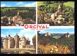 CPM Neuve 63 ORCIVAL Multi Vues - France