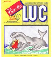 BUVARD LUC Biscottes Chateauroux JONAS DANS LA BALEINE - Zwieback