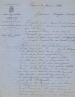 Alpes Maritimes - Cagnes - Aubin Fils - Forge,tour,ajustage - Serrurerie - 1888 - France
