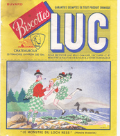 BUVARD LUC Biscottes Chateauroux LE MONSTRE DU LOCH NESS - Zwieback