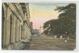 Cpa Sri Lanka ( Ceylon , Ceylan ) Colombo Prince Street , Fort - Sri Lanka (Ceylon)