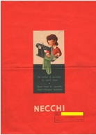 Necchi Macchine Da Cucire Depliant Machines à Coudre Sewing Machines - Unclassified