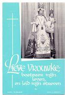 Devotie - Devotion - Gouden Jubileum Klooster Zuster Non Maria Gaudentia - Imelda - Augustina - Ruiselede 1912 - 1962 - Devotion Images
