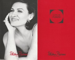 Paloma PICASSO  Carte De Fidélité - Cartes Parfumées