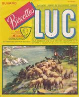 BUVARD LUC Biscottes Chateauroux Berger Troupeau Moutons - Zwieback