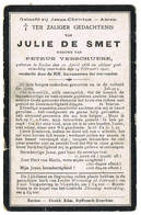 Eeklo: 1920, Julie De Smet( 2 Scans) - Devotion Images