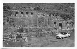 Peru Inka Ruine Cuzco Tampumachay Old Car - Peru