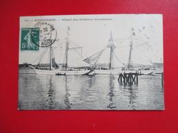 CPA 59 DUNKERQUE DEPART DES GOELETTES ISLANDAISES - Dunkerque