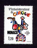 Monaco 1979 Yv 1201 Neuf ** MNH Festival Cirque - Zirkus
