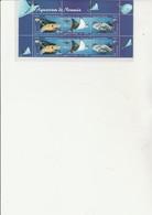 NOUVELLE - CALEDONIE - 2 TRIPTYQUES N° 914 A 916 - NEUF XX - FAUNE MARINE - ANNEE 2004 - Nueva Caledonia