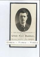 URBAIN K BODDEZ ECHTG GODELIEVE E HERMAN ° KOEKELARE 1899 + POPERINGE 1930 - Devotion Images