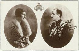 Bulgaria 1930's King Boris III & Queen Ioanna Autographed - Bulgaria