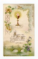Citation De Mgr De Ségur, Calice Et Fleurs, éditeur Non Mentionné - Devotion Images