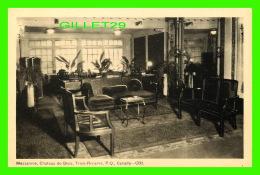 TROIS-RIVIÈRES, QUÉBEC - HOTEL CHATEAU DE BLOIS - MEZZANINE EN 1941 -  PECO - C.B. - - Trois-Rivières