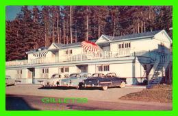 STE LUCE SUR MER, QUÉBEC -  HOTEL AU-BEC-FIN - CIRCULÉE EN 1957 - ANIMÉE VIEILLES VOITURES - CARLE'S - - Autres