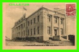 TROIS-RIVIÈRES, QUÉBEC - POST OFFICE - BUREAU DE POSTE - CIRCULÉE EN 1918 - - Trois-Rivières