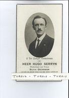 HUGO SERRYN WED SILVIA DECRAMER ° IEPER 1893 + 1938 - Devotion Images