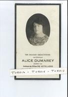 ALICE DUMAREY DOCHTER I & E DE KETELAERE ° OOSTENDE 1893 + BRUSSEL 1929 - Devotion Images