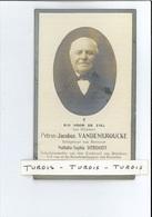 PETRUS J VANDENBROUCKE ECHTG NATHALIA S DEBOODT SCHATBEW KERKRAAD BREDENE ° KLEMSKERKE ( DE HAAN ) 1840 + BRUGGE 1922 - Devotion Images