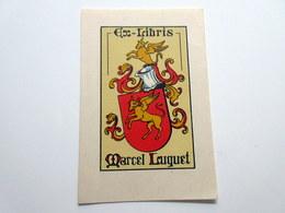 Ex-libris Marcel LUQUET  8 X 12 Cm - Ex-libris