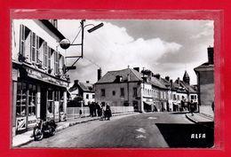 27-CPSM PACY SUR EURE - LE CAFE DU PONT - Pacy-sur-Eure