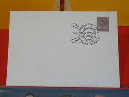 Grande-Bretagne > Marcophilie Carte > Happy Returns To Halley 18.2.1986 London - Marcofilie
