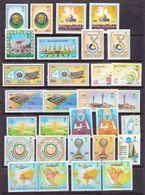 Saudi Arabia Stamps Collections Complete Sets MNH - Arabie Saoudite
