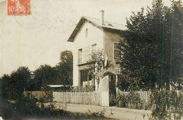 78-Villennes Sur Seine : Carte Photo Restaurant Et Hotel Des Bigochets 1911 ( écrite Par Le Propriétaire) - Villennes-sur-Seine