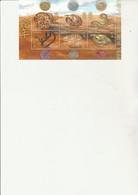 LIBERIA - BLOC FEUILLET N° 3051 A 3056 -NEUF XX - ANNEE CHINOISE DU SERPENT - ANNEE 2001 - Liberia