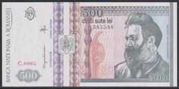 Romania 500 Lei Decembrie 1992 UNC - Romania