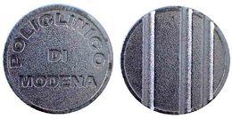 02082 GETTONE TOKEN JETON PARCHEGGIO POARKING PARKMUNZE POLICLINICO DI MODENA - Italy
