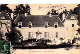 CREANCEY Chateau De Créancey Cpa Circulée En 1908 Bon état Voir Scans - Altri Comuni