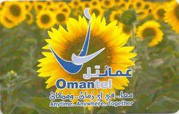 Oman - Chip - Omantel Logo - 09.2002, 400.000ex, Used - Oman