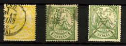 1929- España Nº 143 Y 150 - 1872-73 Reino: Amadeo I