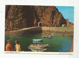 Cp, Royaume Uni, îles De La Manche, SARK , C.I. ,vierge, Ed. Hinde,  Creux Harbour - Sark