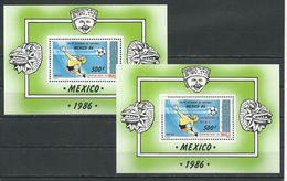 MALI Scott 537, 541 Yvert BF24, BF25 (2blocs) ** Cote 12,00$ 1986 - Mali (1959-...)