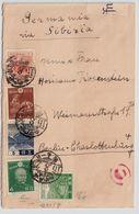 Japan,1937, Brief Nach Dtld., Zensur , #9123 - Lettres & Documents