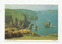 Cp, Royaume Uni, îles De La Manche, SARK , C.I. ,vierge, Ed. Judges,  Les Autelets - Sark