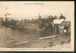 Péniche De Débarquement Assurant Le Service Entre Noirmoutiers Et Pornic - Noirmoutier