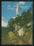 Brasil. RJ - Río Janeiro. *Monumento Do Cristo Redentor...* Circulada 1968. - Brasil