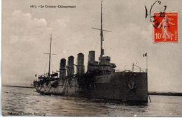 Bateaux : Guerre : Le Cuirassé ''  Chateaurenault '' - Guerra