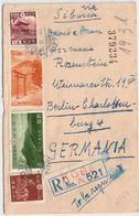 Japan,1940, Reko-Brief Nach Dtld., Zensur , #9124 - Lettres & Documents