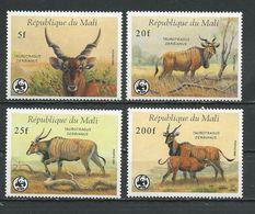 MALI Scott 542-545 Yvert 538-541 (4) ** Cote 40,00$ 1986 - Mali (1959-...)