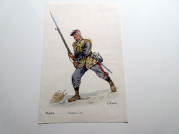 Chromo G. Ripart - Moblot - Coulmiers 1870 - Chromo