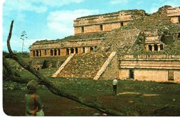 MEXIQUE : SAYIL - The Palace At The Sayil Archaeological Zone - Mexico